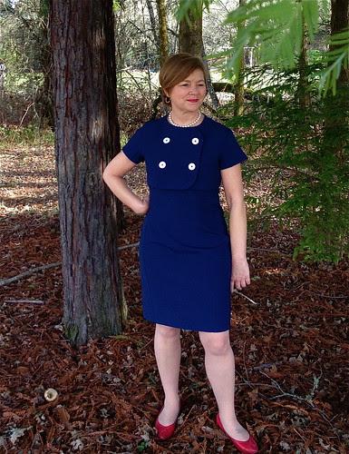 Blue Dress and Jacket