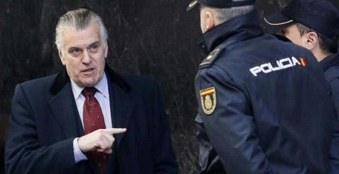 El extesorero del PP, Luis Bárcenas. - EFE