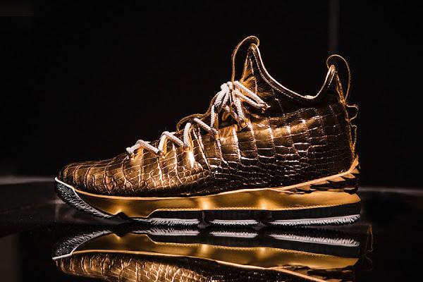 buy online e108f e2d2c The Shoe Surgeon Nike LeBron 15 30K Worth  100,000