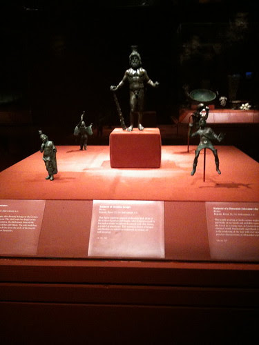 Statuettes, Afghan art exhibit, Met
