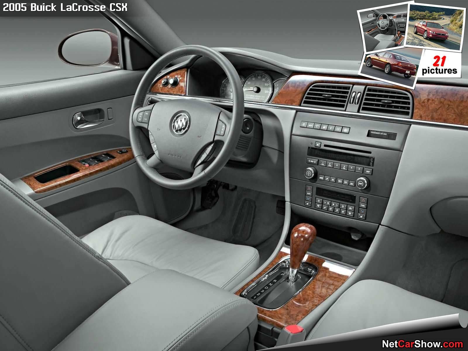 Buick LaCrosse CSX (2005) - Interior - 8 of 21, 1600x1200