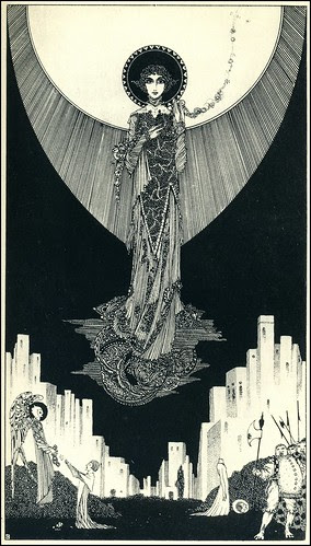 Harry Clarke, Swinburne, St Dorothy