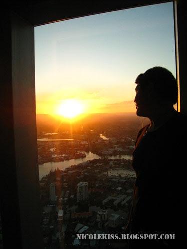 jon sunset emo pose