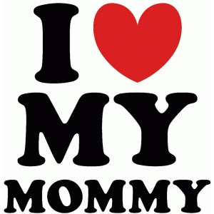 Silhouette Design Store View Design 59935 I Love My Mommy