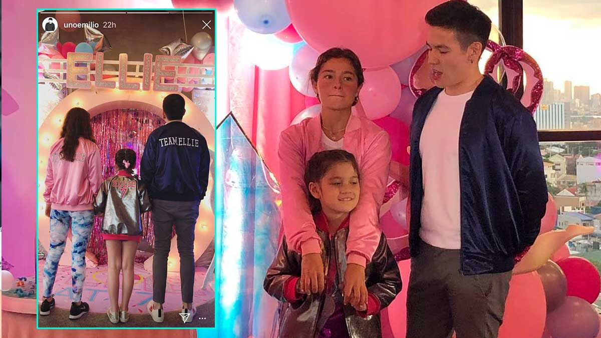 Andi Eigenmann And Jake Ejercito Reunite For Daughter Ellies 7th