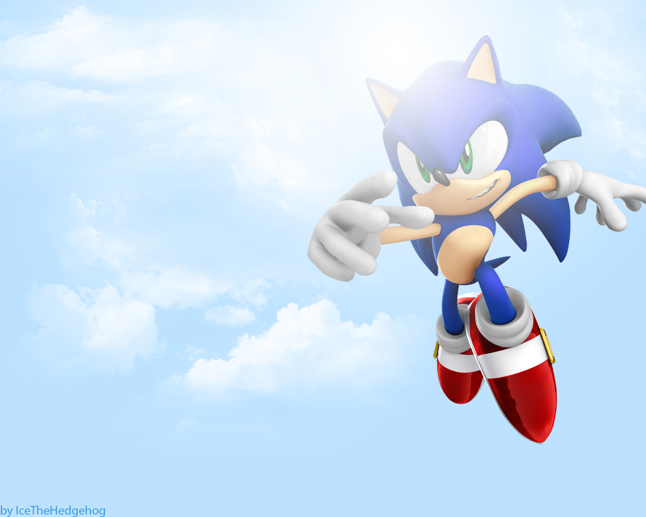 Sonic In The Sky Sonic The Hedgehog Wallpaper 8842315 Fanpop