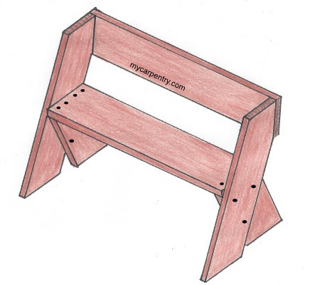 Share Outdoor Wood Bench Seat Plans Easy Project