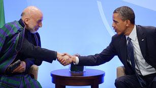 Ver vídeo  'Obama asegura consenso en la OTAN sobre la retirada de Afganistán'