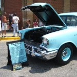 A 57 Chevy from Franklin County Virginia