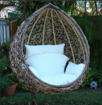 Egg Swing Chair - contemporary - outdoor chairs - by Amazon