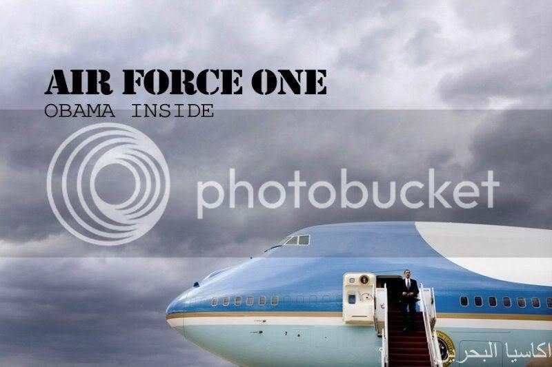 Mengintip kerja Obama di Air Force One!!