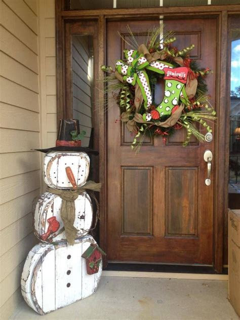 fun snowman christmas decorations   home digsdigs
