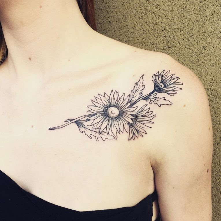 95 Best Collarbone Tattoo Designs Meanings Inspirational Ideas