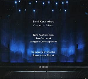 Eleni Karaindrou / Jan Garbarek Concert In Athens  cover