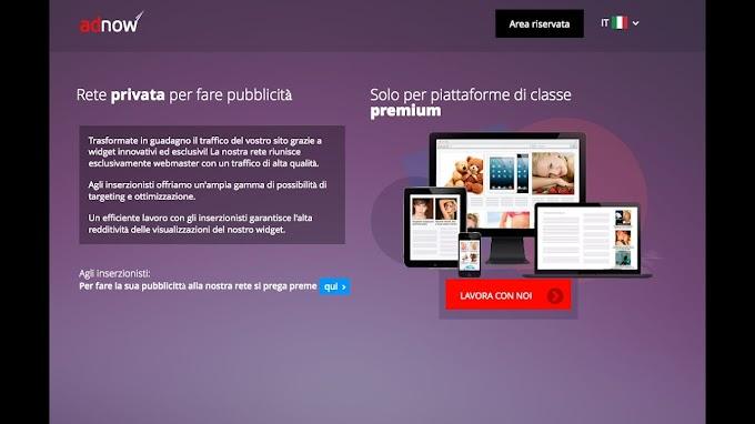 it.Adnow.com | Come Guadagnare Online Con Questa Ottima Rete Pubblicitaria