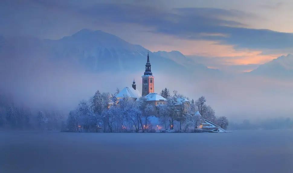 village de bled en slovénie