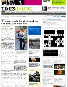 "Il Times su Berlusconi ""Da eroe a buffone"""