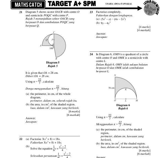 Jawapan Modul Matematik Tingkatan 4 Nilam Publication ...