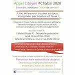 Chalon-sur-Saône: Appel citoyen #Chalon2020 organise sa première réunion ce lundi soir (Communiqué)
