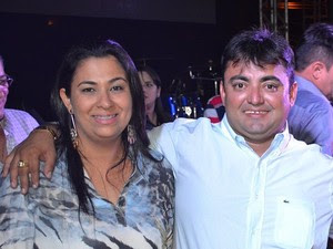 Primeira-dama Maria Sousa e o prefeito Márcio Alencar (Foto: Divulgação/Prefeitura de Alegrete do Piauí)