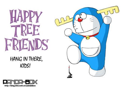 doraemon - happy tree friends