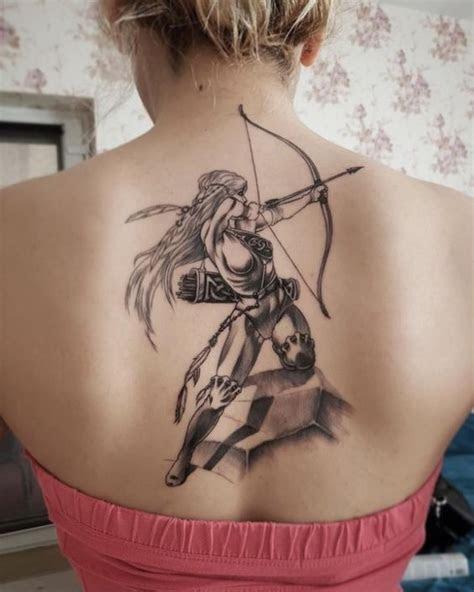 sagittarius tattoo design ideas hike  dip
