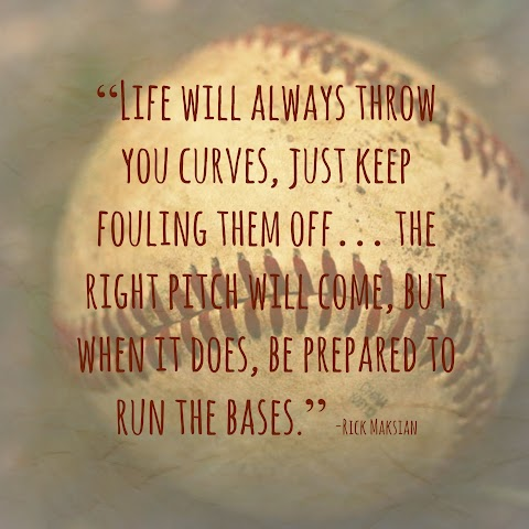 Quotes About Baseball And Life