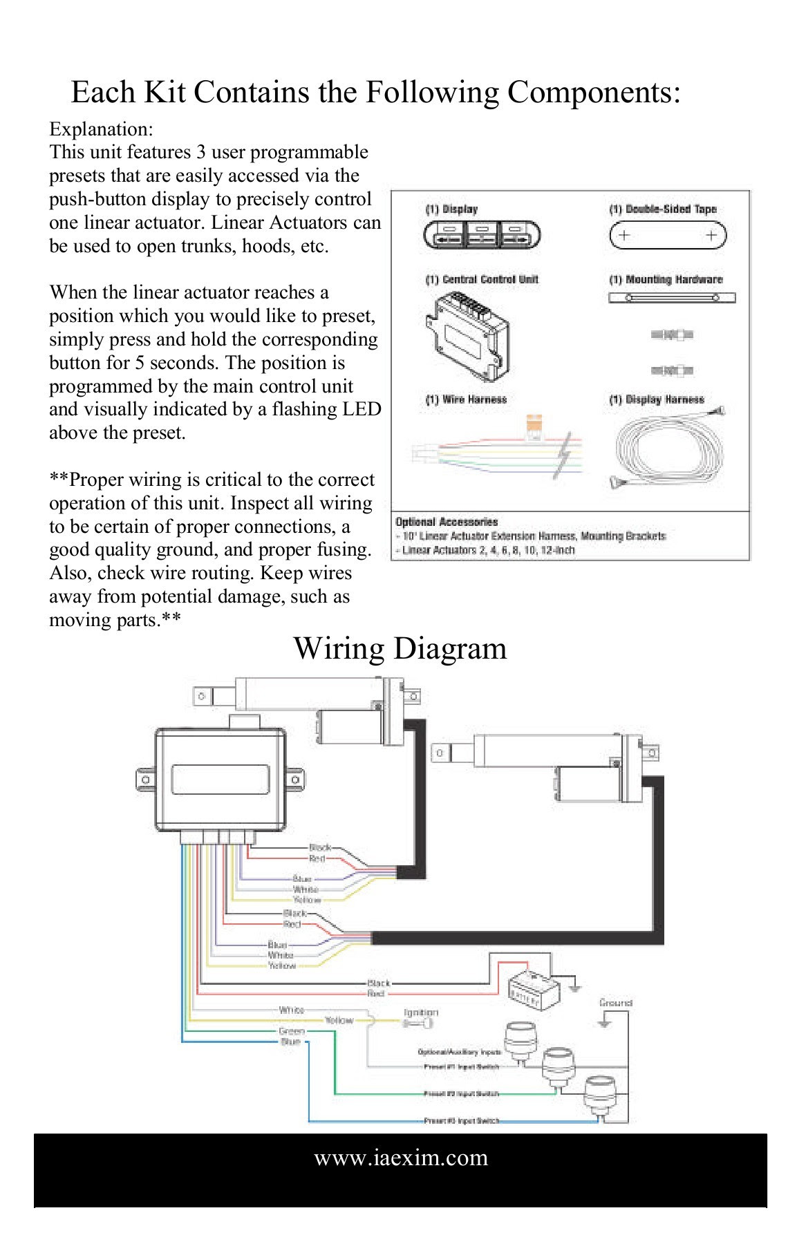 Actuator In Wiring Diagram