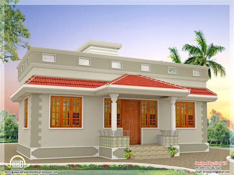 single floor indian slab houses front designs