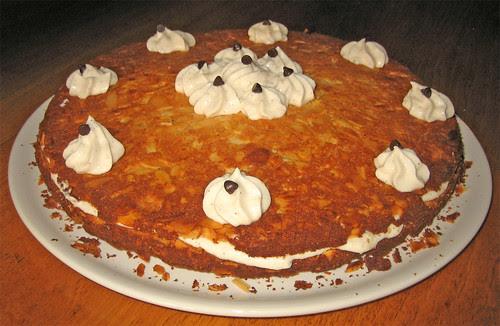 Torta di mandorle farcita by fugzu