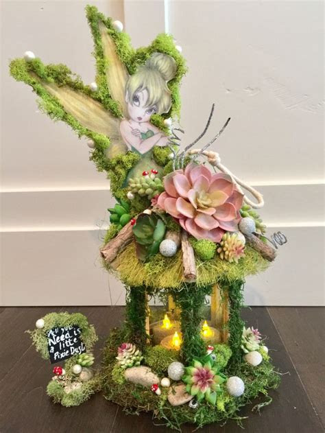 Tinkerbell, Centerpiece, candle , Enchanted Forest