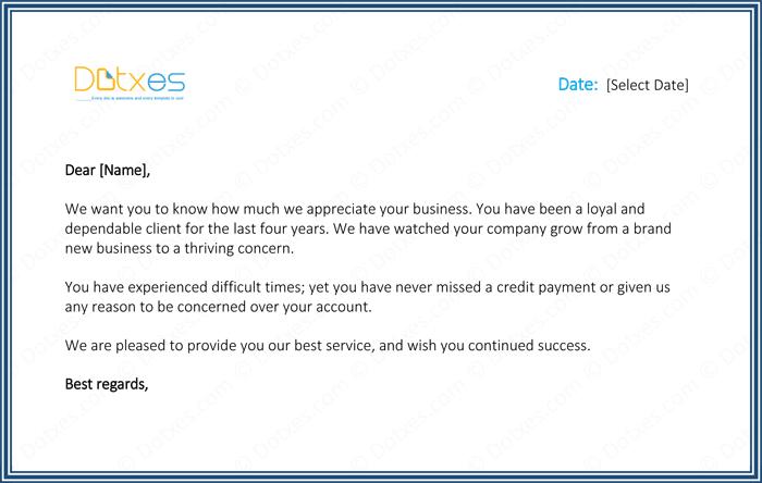Sample Letter Of Appreciation For A Job Offer