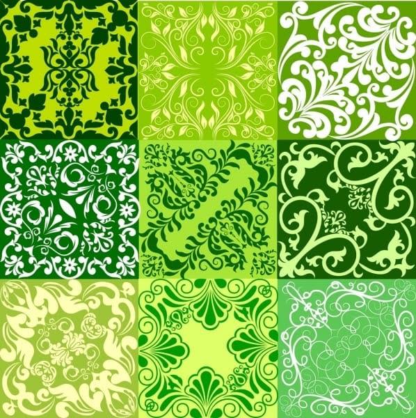 خلفيات خضراء فيكتور Doted24 Blogspot Com