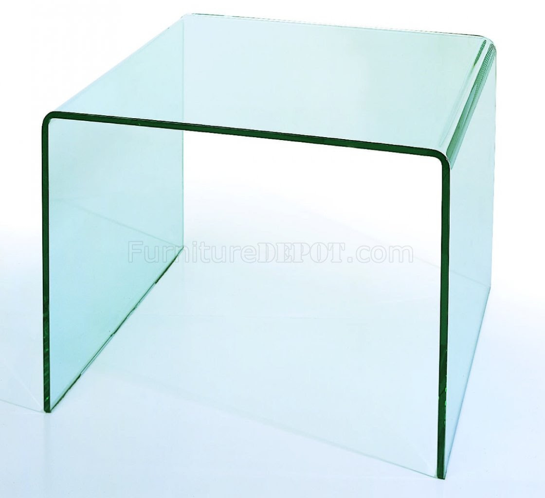 Modern Glass End Tables