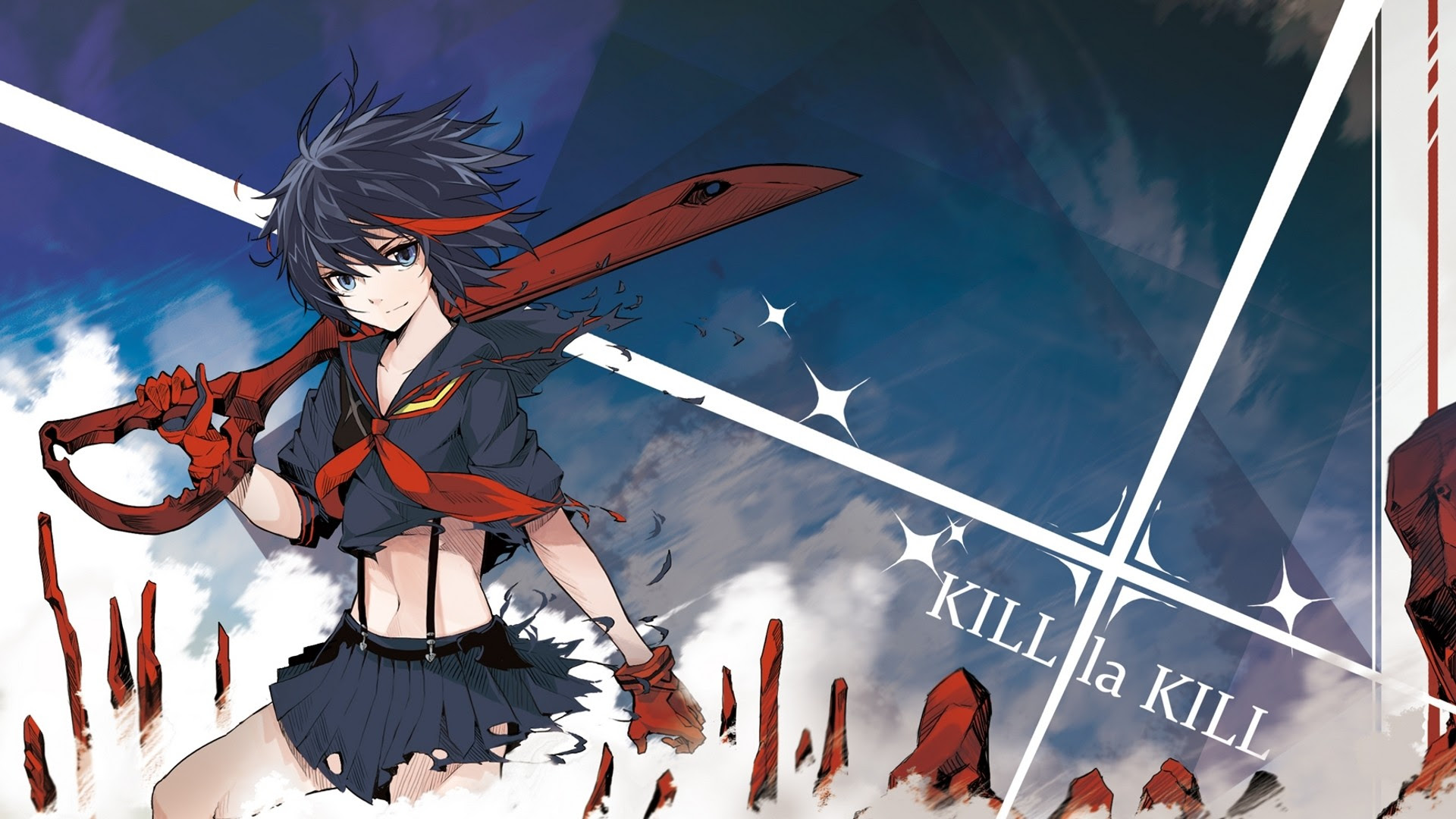 Kill La Kill Wallpaper 1366x768 62 Images