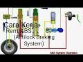 Prinsip Kerja Sistem Rem ABS Pada Mobil Beserta Ilustrasinya