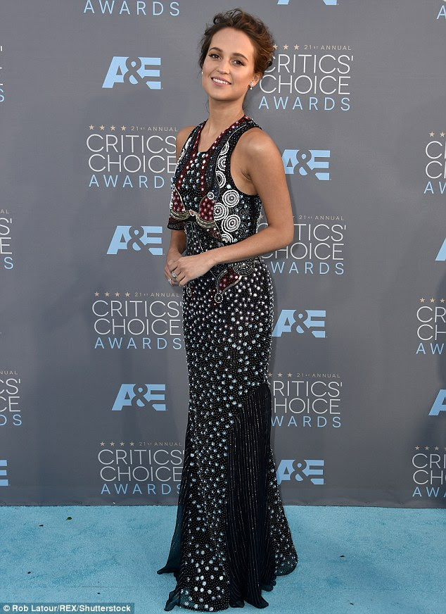 Alicia Vikander Critic's Choice Awards 2016