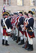 Jersey militia re-enactment Battle of Jersey anniversary 2009 c