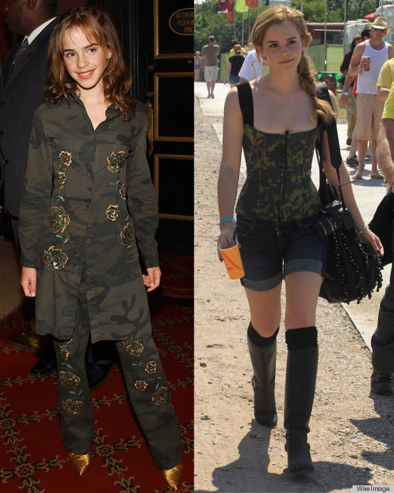 PHOTOS : Emma Watson Still Takes Style Cues From Her Hermione Granger Days
