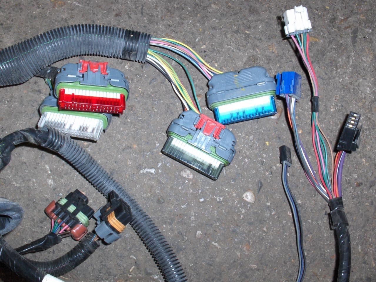 97 Camaro Z28 LT1 4L60E engine wire harness - LS1TECH