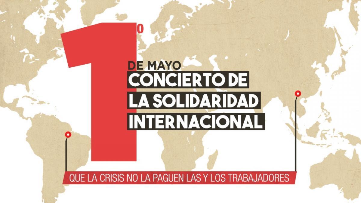 Cartel concierto internacional
