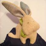 come cucire coniglio in stoffa tutorial e cartamodello