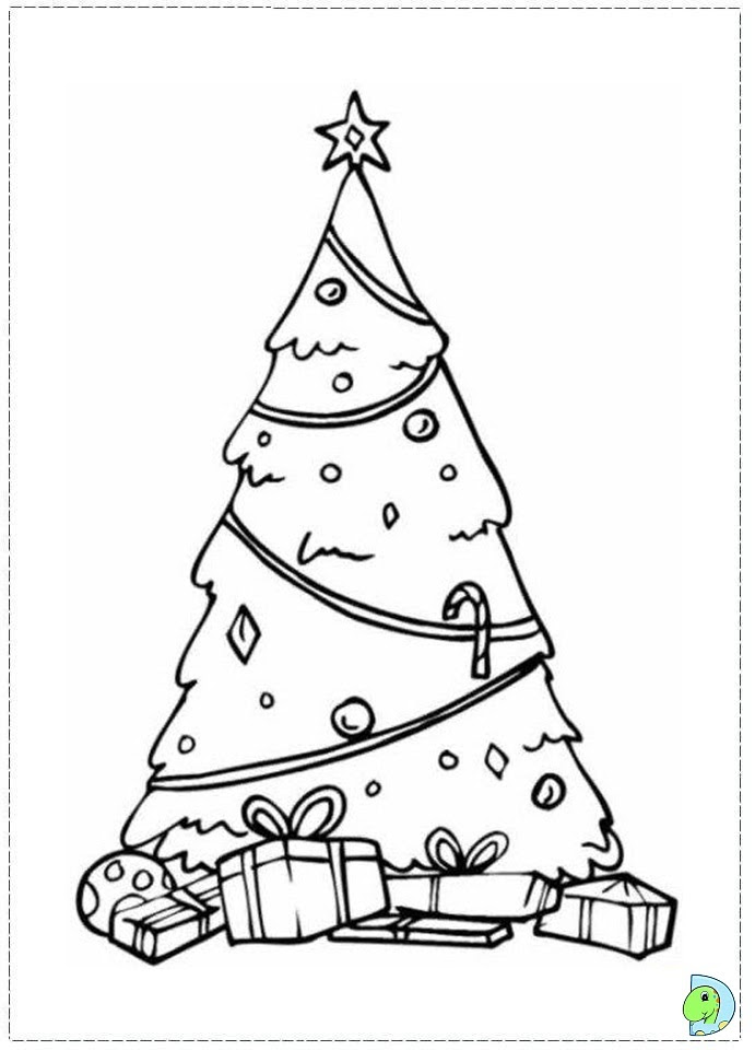 Coloring Cone Tree Coloring Pages