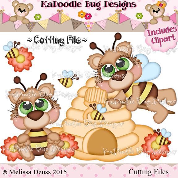 Cutie KaToodles - Bumble Bears