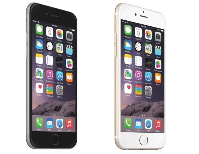 iPhone 6 Plus tem tela Full HD de 5,5 polegadas (Foto: Divulgação/Apple)