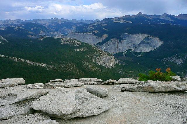 P1180390 Half Dome Trail: Top of Half Dome