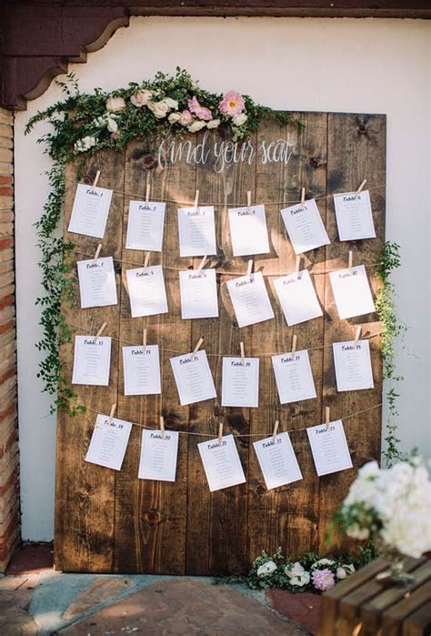 Miscellaneavintagerentals.com Wedding seating chart ideas