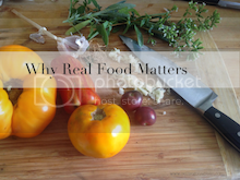 Why real food matters