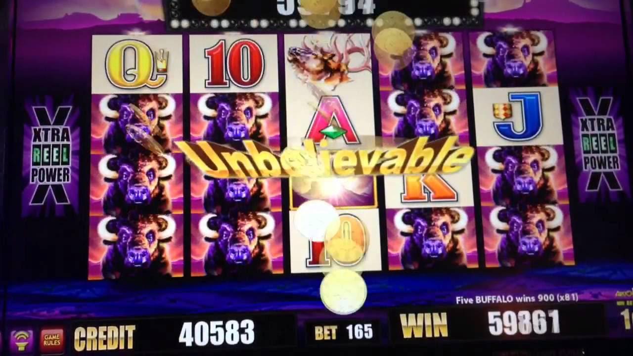 Casino slot machine winners