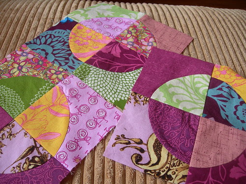 Curved seams practice